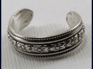 Sterling Silver Toe Ring - Any Size