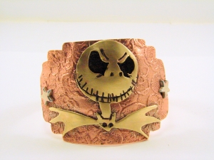 Jack Skellington Mixed Metals Cuff